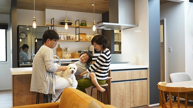 規格住宅を私らしくデザイン性と快適性に富んだ家